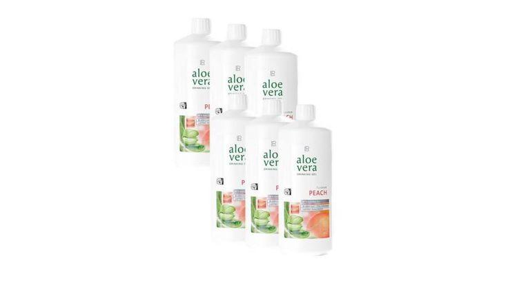 Aloe Vera ital Őszibarack 6 flakon - Aloe webshop