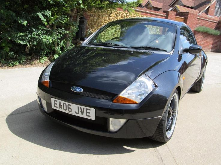 Ford Streetka 1.6 2006 Winter Edition Hardtop And Heated Red Leather Seats.