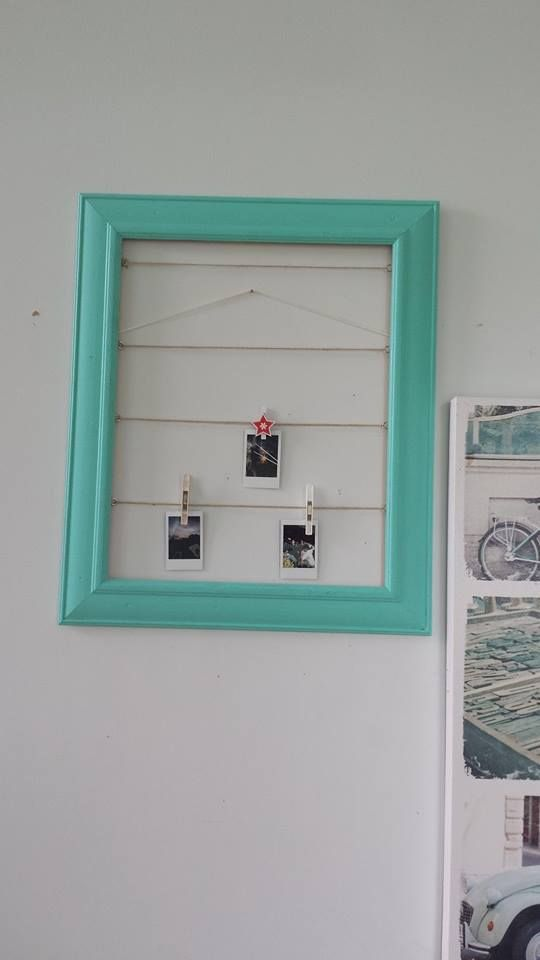 "Making a ""polariod"" photo frame 5 of 6"