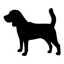 Beagle Silhouette                                                                                                                                                                                 More