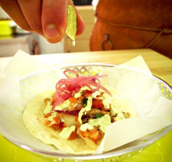 Carnita - taco med fläsk | Recept.se