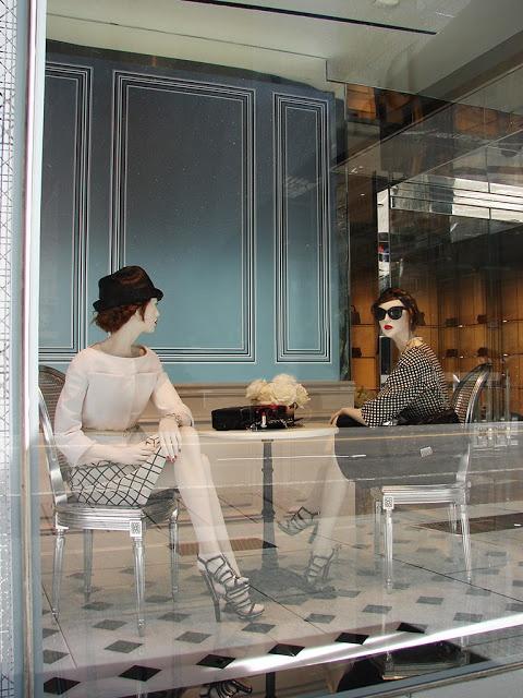 Dior Holiday Window Displays