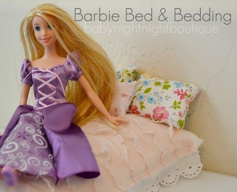 Bellapia Clothing Co.: Barbie Bed and Bedding-Handmade Christmas