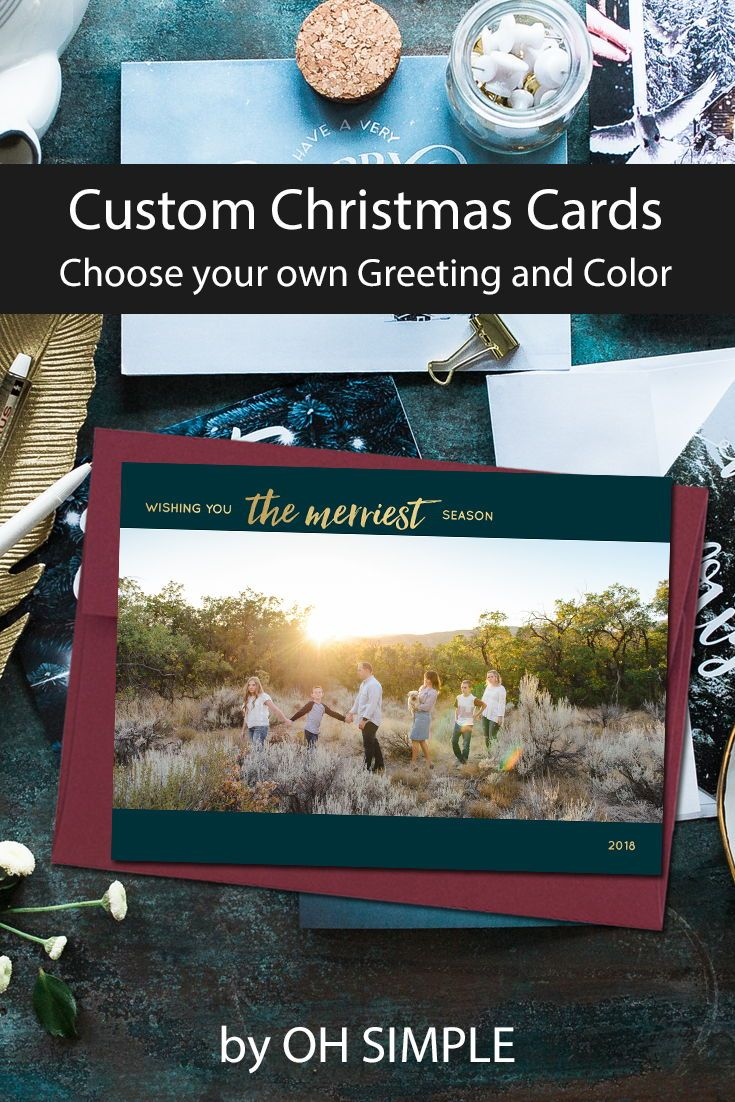 Photo Christmas Cards | Holiday Photo Cards | Personalized Christmas ...