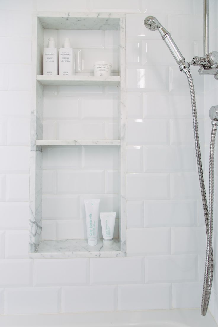 The 25+ best Bathroom niche ideas on Pinterest | Grey tile ...