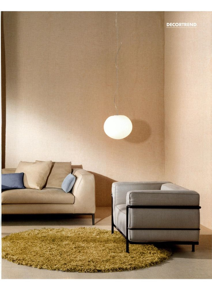 ELLE DECOR - LC3, design Le Corbusier, Jeanneret, Perriand