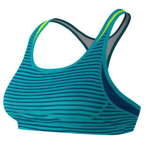 Off) New Balance 5302 Women's The Print Shapely Shaper Bra - Sea Glass, Deep  Water - My Running Deals