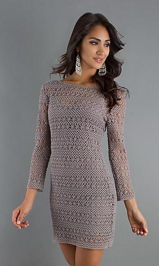 Crochet dress! ♪ ♪ ... #inspiration_crochet #diy GB http://www.pinterest.com/gigibrazil/boards/