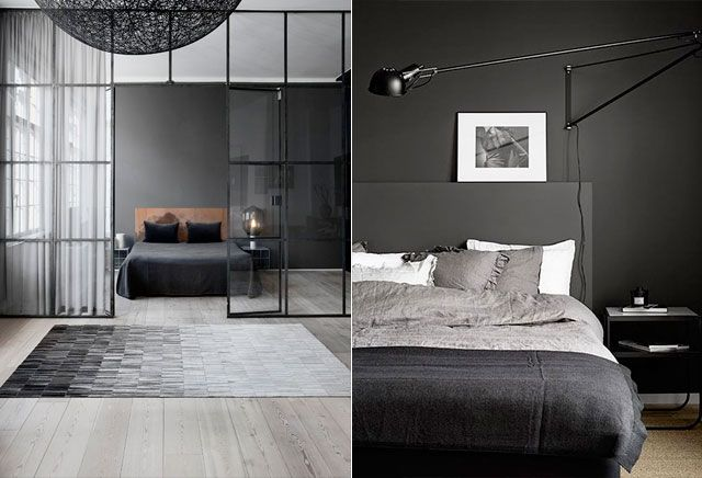 10 stijlvolle zwarte slaapkamers - Minimalistisch | ELLE Decoration NL