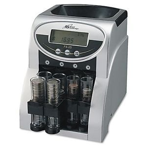 a coin change sorter machine money counter sort count wrapper electronic digital