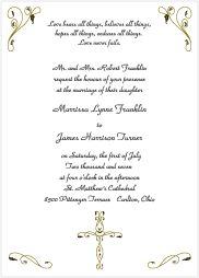christian invitation card