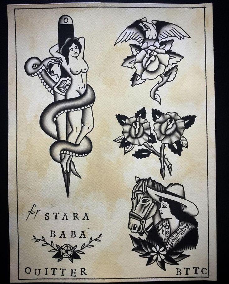 Flash i did for awesome talented people  from @starababatattoo , thank You for all the Help #allspit #blxckink #blackwork #trflash #trad_tattooflash #tattoo #warsawtattoo #tatuaż #oldschool #ilustracja #rose #illustration #western #eagle #flashaddicted #flashworkers #traditionaltattoo #oldschooltattoo #spitshade #cool #roses #warszawa #oldlines #lublin #greyspit #doodle #rosetattoo #eagle #instaart #darkartists #doodle #doodles