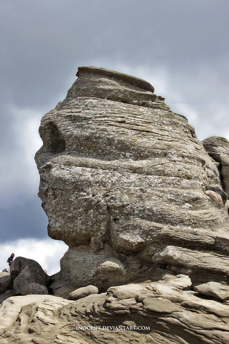 The Sphinx of Bucegi Mountains by inocent.deviantart.com on @DeviantArt