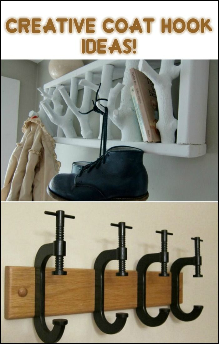 A Great Place to Display Photos, Usable Shelf, Lots of Coat Hooks AND it's