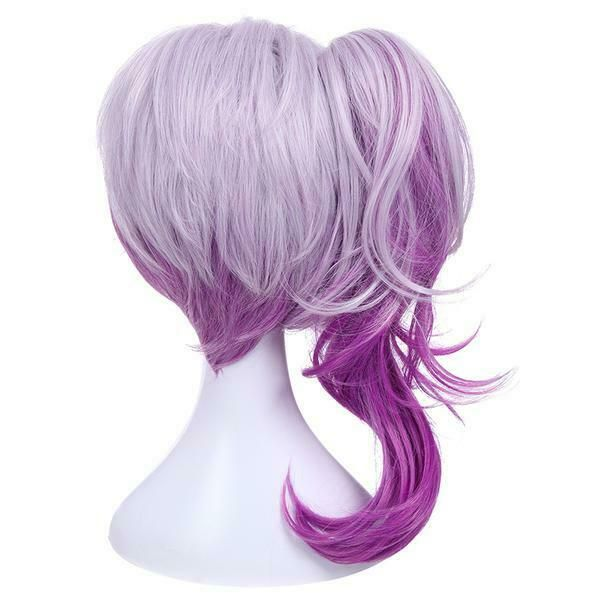 chestnut brown UK seller Short layered fluffy spikeable cosplay wig Jack style