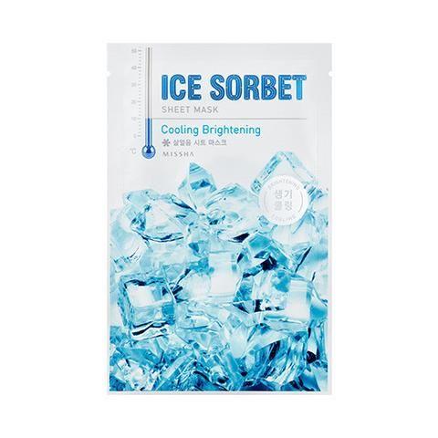 [MISSHA] Ice Sobert Sheet Mask 5 PCS  (Cooling Brightening)