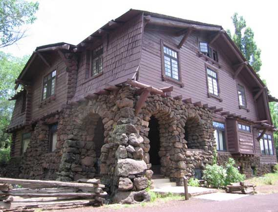 Riordan Mansion at Riordan State Historic Park, Flagstaff, AZ.  My sister was a park ranger there - coolest place ever!
