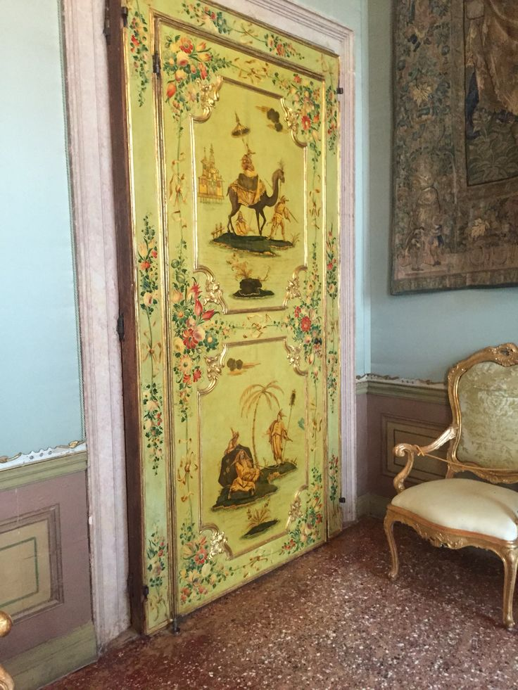 Chinoiserie at Ca'Rezonico, Venice, Grand Canal