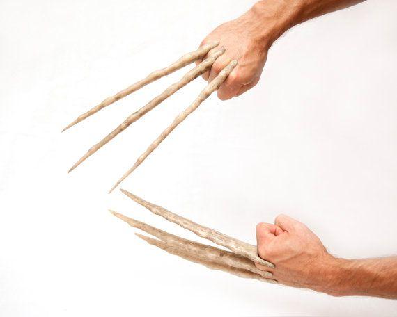 Screen Accurate Wolverine Bone Claws  Hand by DarkMatterProps