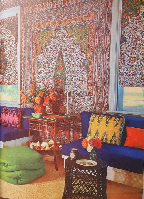 House & Garden's Complete Guide To Interior Decoration- Vintage 1970s Home Decor Yumminess On The Blog Today! #GypsyYaya