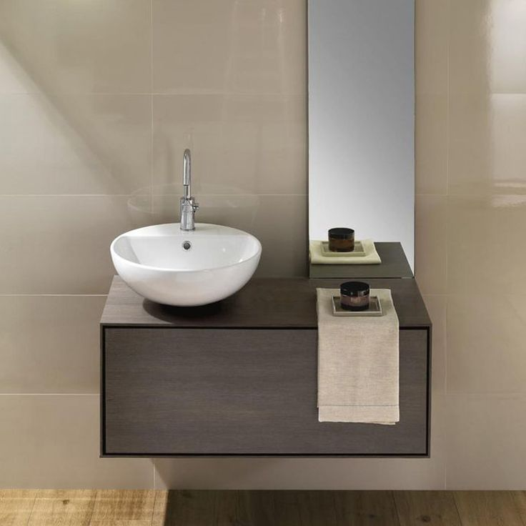 166 best Bad images on Pinterest Brown, Cabinet and Concrete blocks - happy d badezimmer