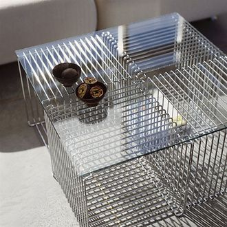 The Panton Wire Cubes.