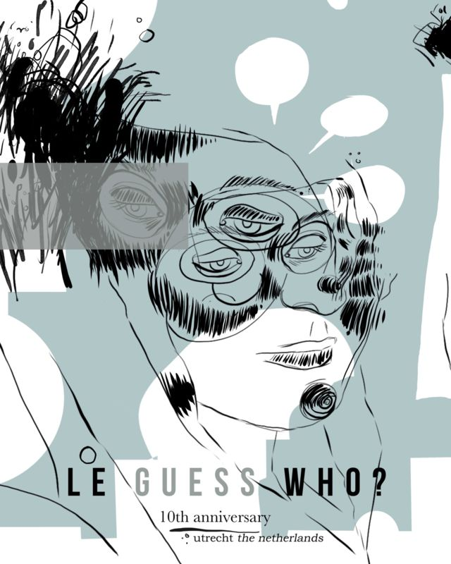 Le Guess Who? 2016 gigposter