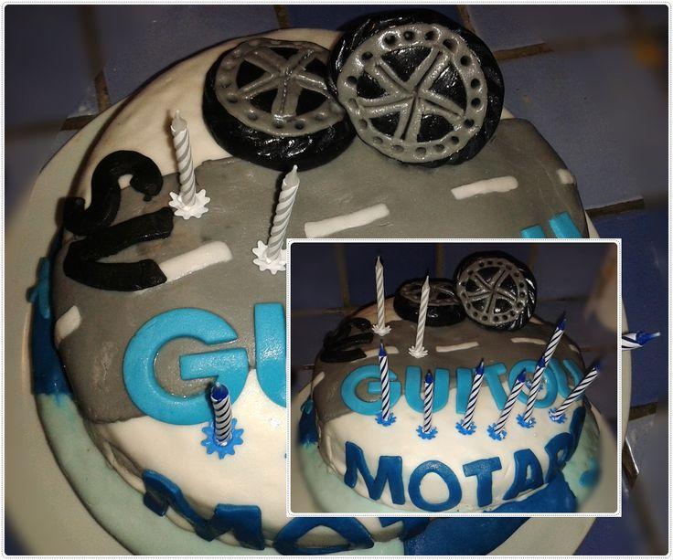 Le gâteau du motard