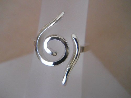 Naruto Jewelry Inspired Sterling Silver Ring Naruto Symbol