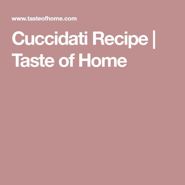 Cuccidati Recipe   Taste of Home