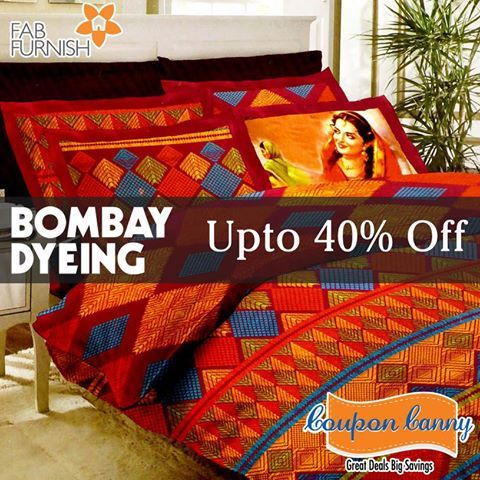 Upto 40% off on #BombayDyeing at fabfurnish.com! Claim Now : http://www.couponcanny.in/fabfurnish-coupons/