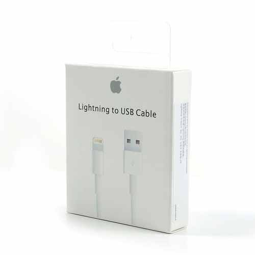 100% Genuine Apple Lightning to USB Sync Charger Data Cable for iPhone5 6 iPad 4