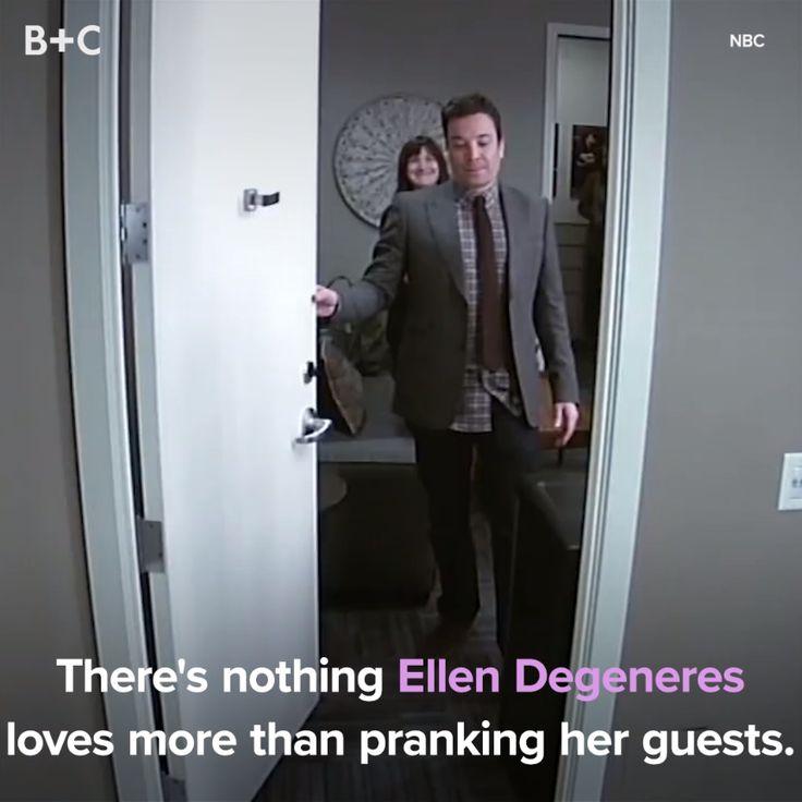 Ellen bekommt sie jedes Mal!