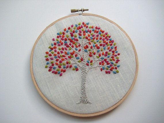 tree hoop art