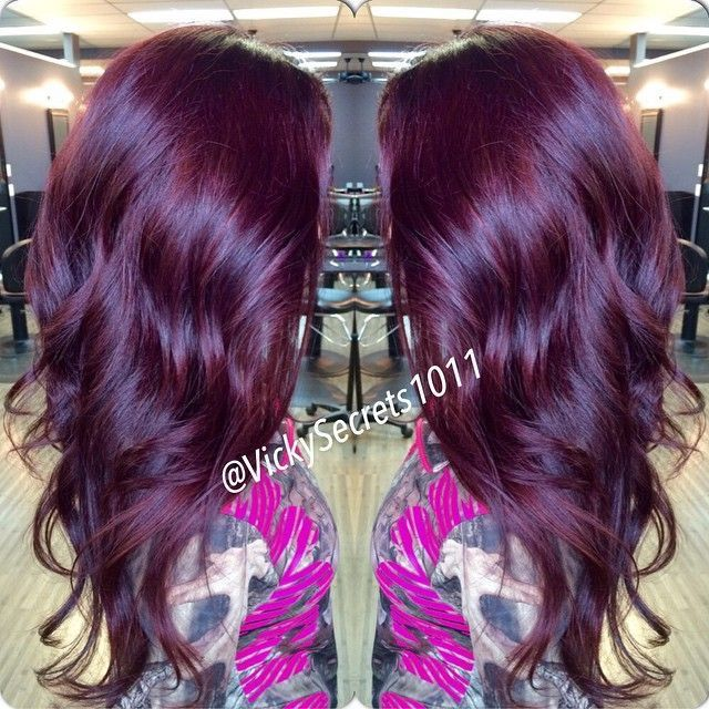 46 Best Images About Hair Highlights On Pinterest  Deep Violet Hair My Hair