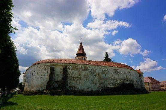 Prejmer Fortified Church - outside