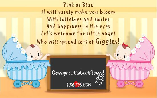 Pink and Blue! | Pregnancy Tips | Pinterest | Pregnancy