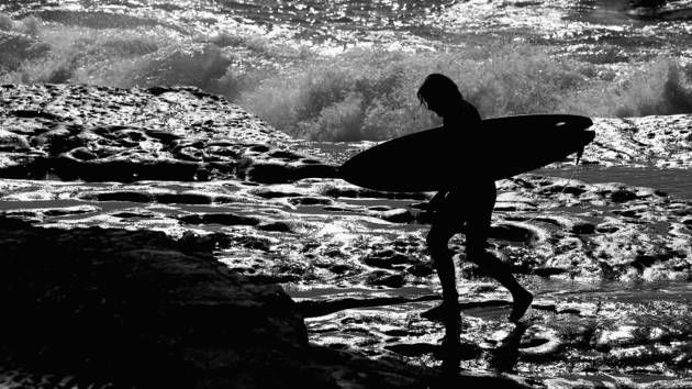 """Red Bull Surfing:  Turn on your Hawaii Five-0 theme tune loud, sit back and watch these great  shots from Sydney's Cape Fear... """"Book 'em Danno!"""""""