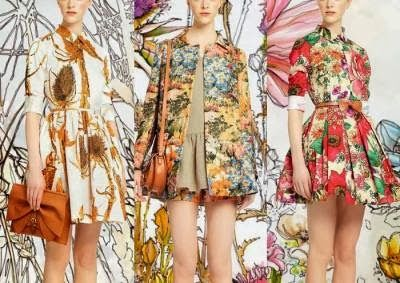 Trends Mode-Frühling & Sommer 2014