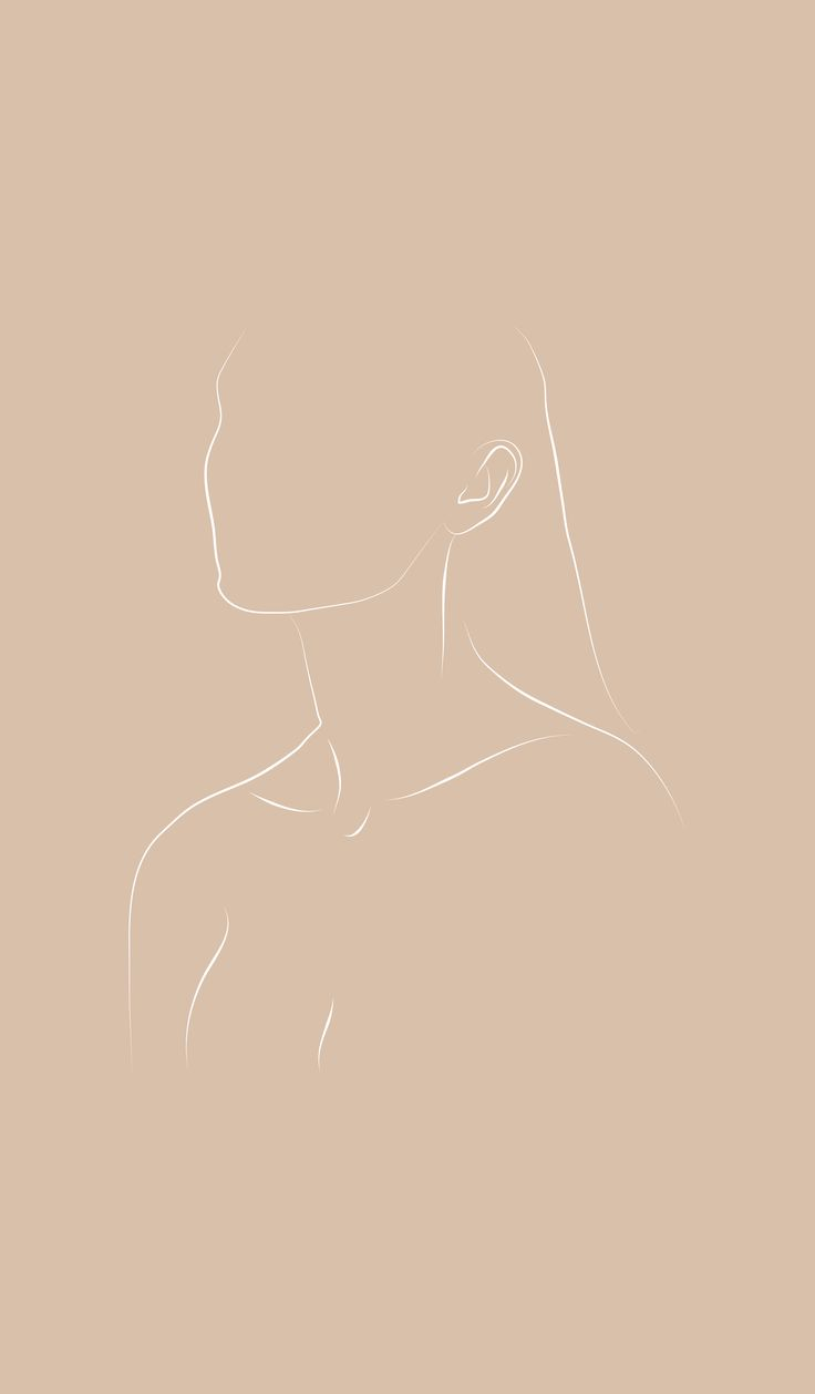 Minimal line portrait | IG: Michael Hodges #figure #figurativedrawing #female #f…