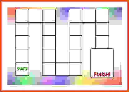 Настольная игра для печати шаблона Изображения и картинки - Becuo