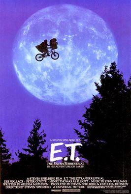 COLECCIÓN DE CARTELES ANTIGUOS DE CINE- E.T. El extraterrestre 1982, con Henry Thomas