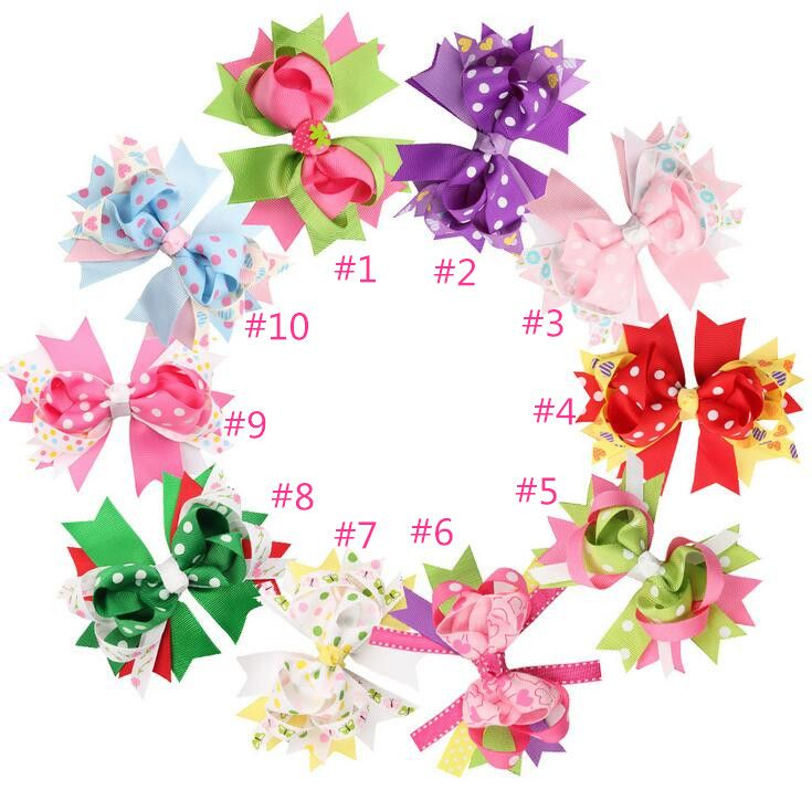 Free Shipping 100pcs/lot Boutique Twisted Hairbow with Pinwheel Hairbow for Toddlers Kids Teenage Hair accessory #Affiliate