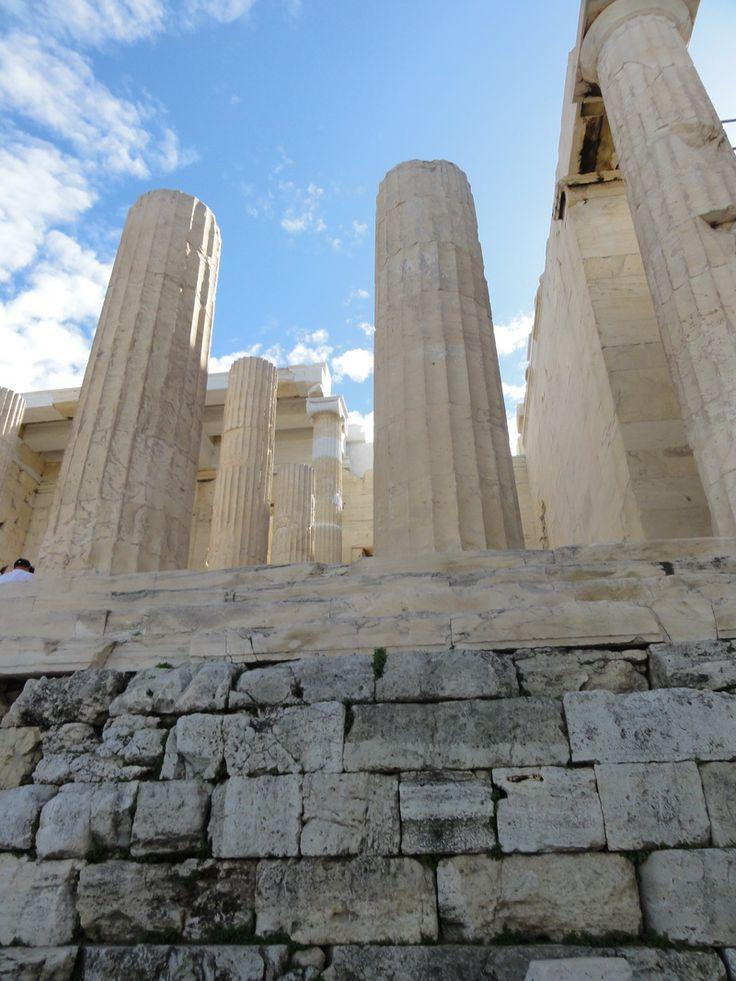 Die Säulen der Erde - Akropolis in Athen