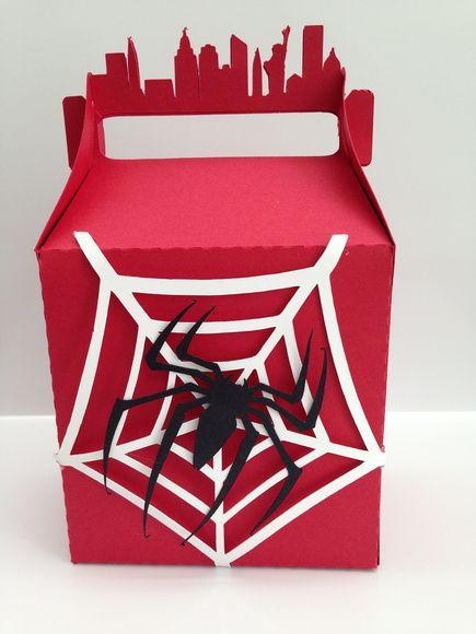 Caixa para lembrancinha Homem Aranha