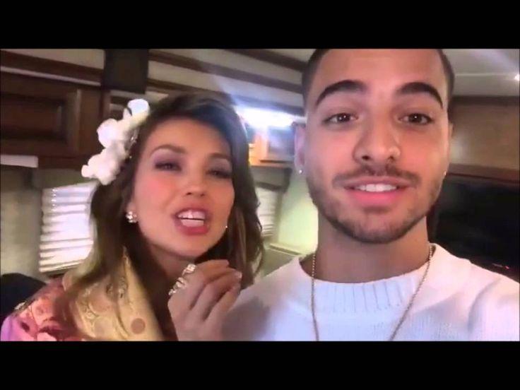Thalia Besa A Maluma (Video)