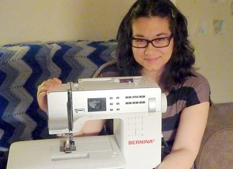 Meet Master Craftster rlynn and see what she's crafting with the BERNINA 330! #sewing #Craftster
