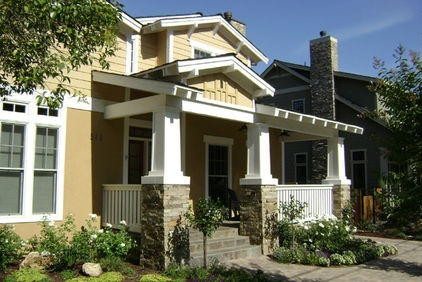 17 best images about house color ideas on pinterest for Craftsman tapered columns