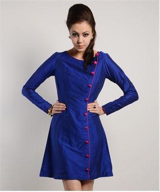 Cotton & Silk Dress