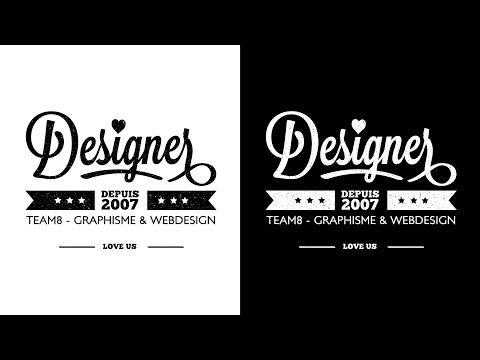creer un logo tutorial